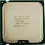 CPU Intel Core 2 Duo E8300 Processor