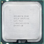 CPU Intel Core 2 Duo E8400 Processor