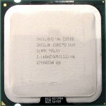 CPU Intel Core 2 Duo E8500 Processor