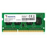 Notebook RAM ADATA Premier 4GB DDR3L 1600MHz