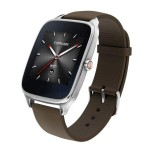 ASUS ZenWatch 2 WI501Q With Brown Rubber Strap SmartWatch