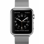 ساعت هوشمند اپل مدل Watch Series 2 42mm Silver with Steel Stainless Milanese Loop Band