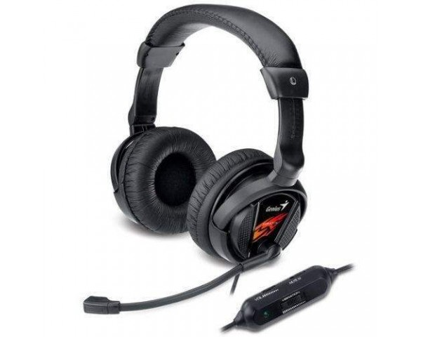 هدست گیمینگ Genius HS-G500V Vibration Gaming Headset