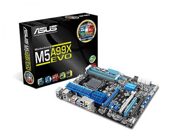 +MotherBoard ASUS-M5A99X EVO AMD-AM3
