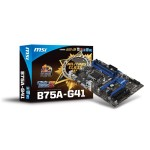 MotherBoard MSI B75A-G41 Intel-1155