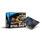 MotherBoard MSI B75A-G43 Intel-1155