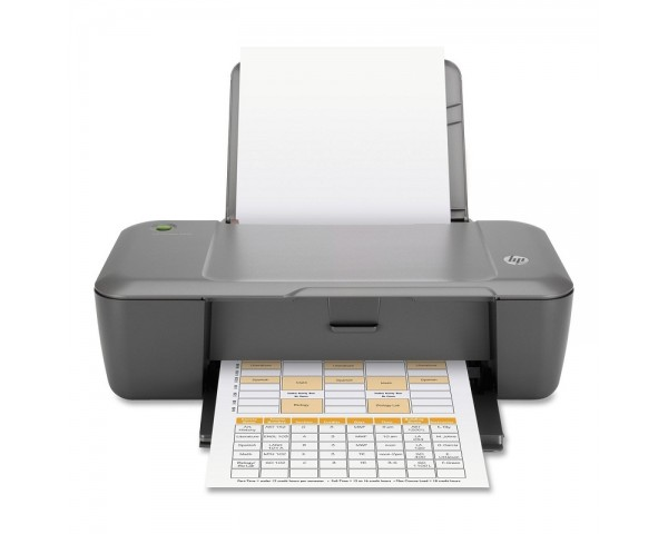 HP Deskjet 1000 Inkjet Printer